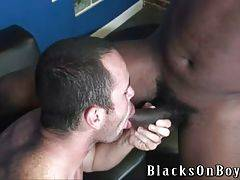 Guy Is Ready For Two Black Dicks 3