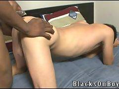 Black Guy Fucks Boy